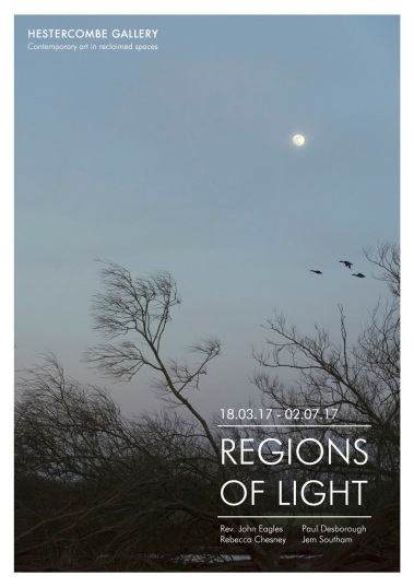 Regions of Light A5 flyer